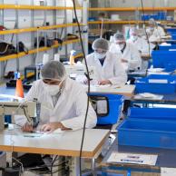 Visuel pour APF Entreprises s'engage dans la production de masques