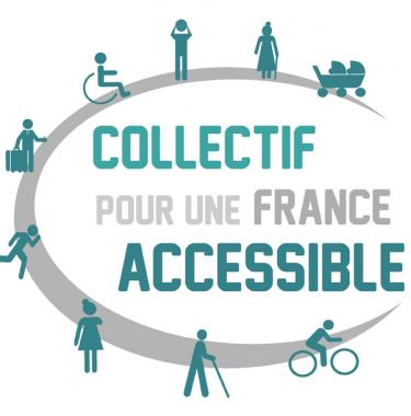 Logo collectif France accessible
