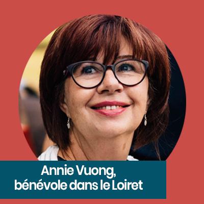 Annie Vueong, bénévole