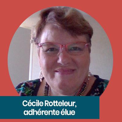 Cécile rotteleur, bénévole APF France handicap