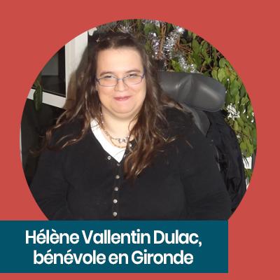 hélène, adhérente élue bénévole apf france handicap