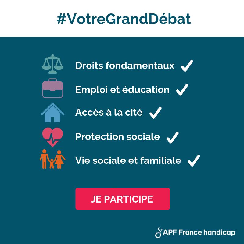 illustration APF France handicap lance une plateforme citoyenne pour faire entendre nos revendications
